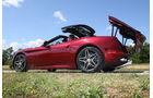 Ferrari California T, Verdeck öffnet