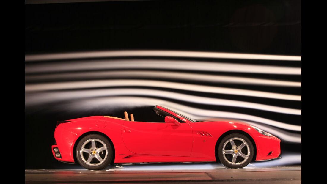Ferrari California Windkanal