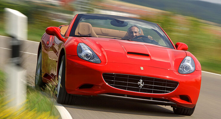 ferrari california im test alltagsvariante des cabrios auto motor und sport. Black Bedroom Furniture Sets. Home Design Ideas
