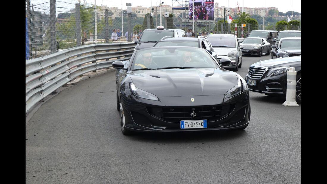 Ferrari - Carspotting - GP Monaco 2019