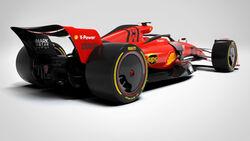 Ferrari - Concept - 2022 - Mark Antar Design