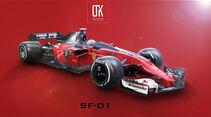 Ferrari - Designstudie - Concept - Shield - 2018