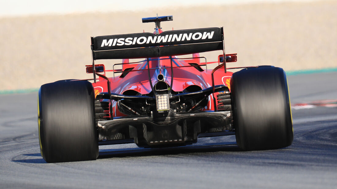 Ferrari - Diffusor - F1-Test - Barcelona - 2020