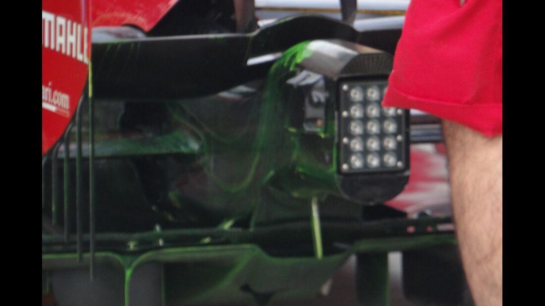 Ferrari Diffusor - Formel 1 - GP Indien - 26. Oktober 2012