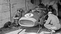 Ferrari Dino 246 - GP Deutschland 1958 - Nürburgring - Box