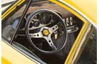 Ferrari Dino 246 GT, Cockpit, Lenkrad