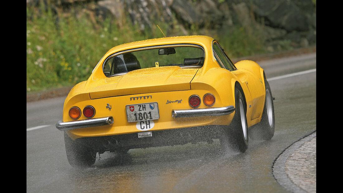 Ferrari Dino 246 GT, Heckansicht