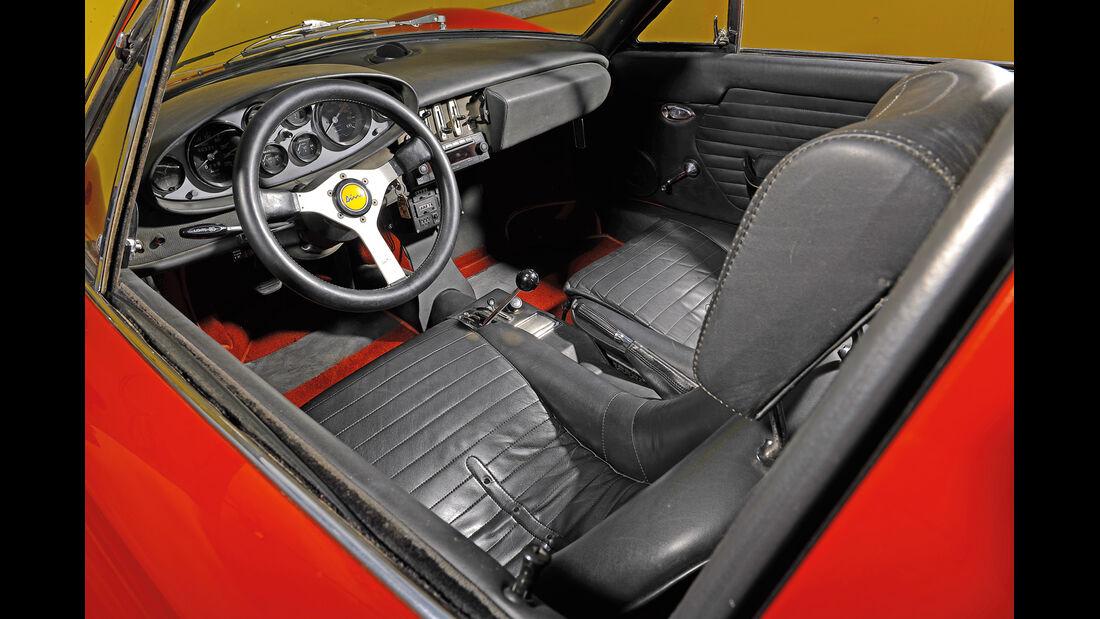 Ferrari Dino 246 GTS, Cockpit