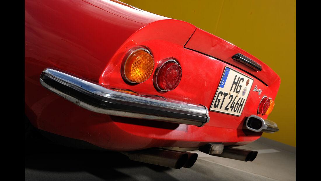 Ferrari Dino 246 GTS, Heckleuchte