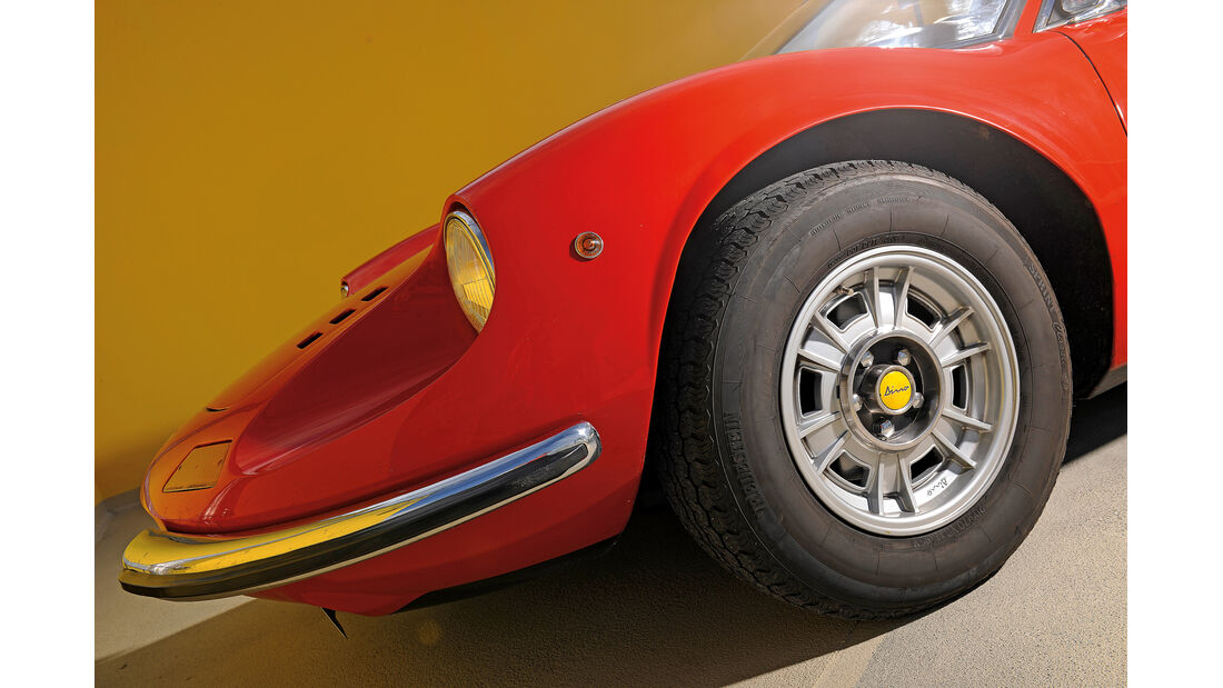 Ferrari Dino 246 GTS, Rad, Felge