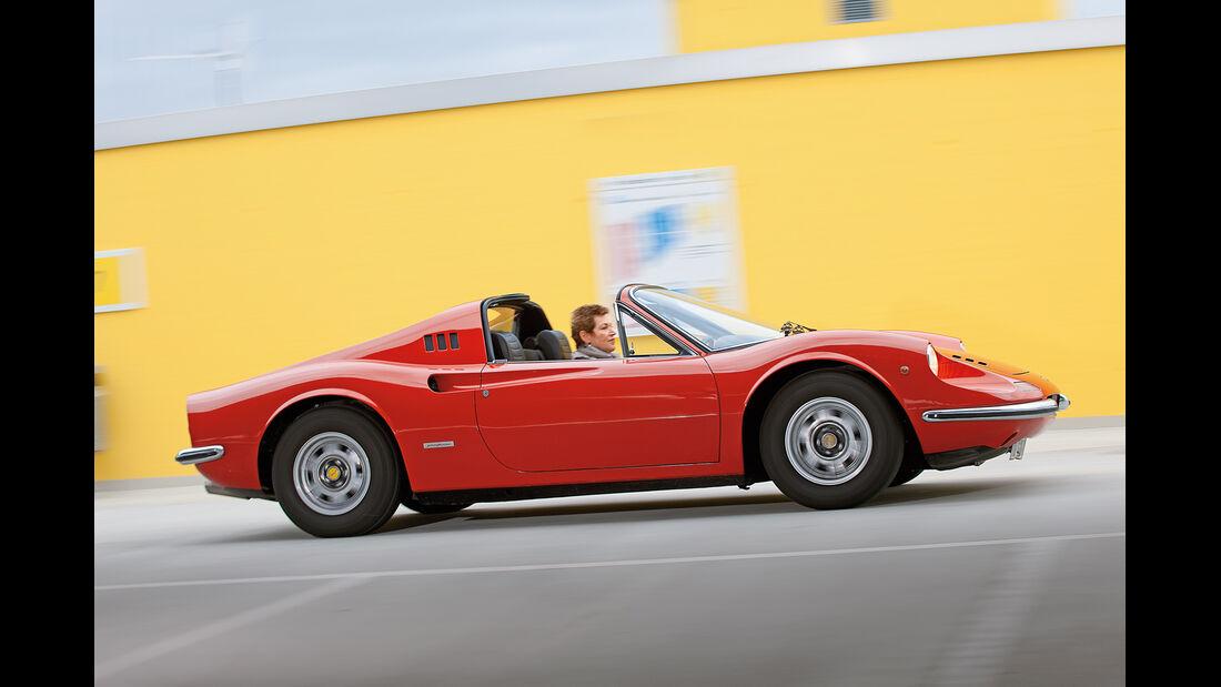 Ferrari Dino 246 GTS, Seitenansicht