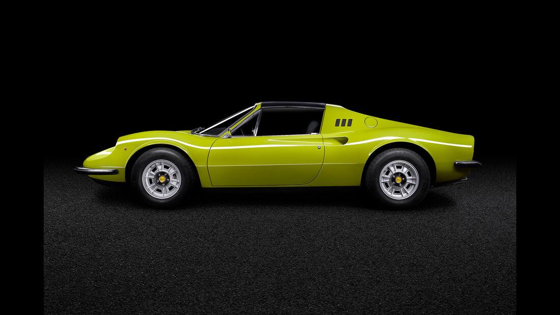 Ferrari Dino 246 GTS (Tipo 607 E), 1973, Designer Battista Pininfarina und Aldo Brovarone, Sammlung D�sseldorf, Foto Oliver Sold.jpg
