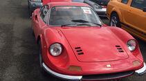 Ferrari Dino - Carspotting - 24h-Rennen Le Mans 2016