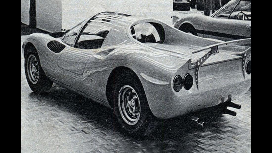 Ferrari, Dino Studie, IAA 1967