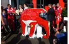 Ferrari-Elefant GP Italien 2011