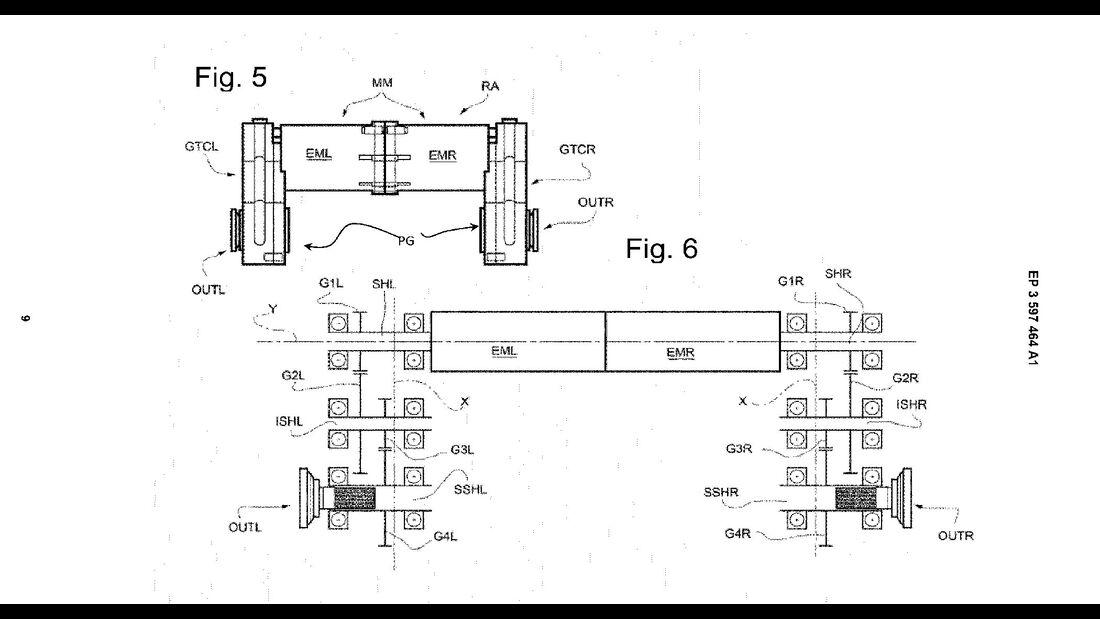 Ferrari Elektroantrieb Patent