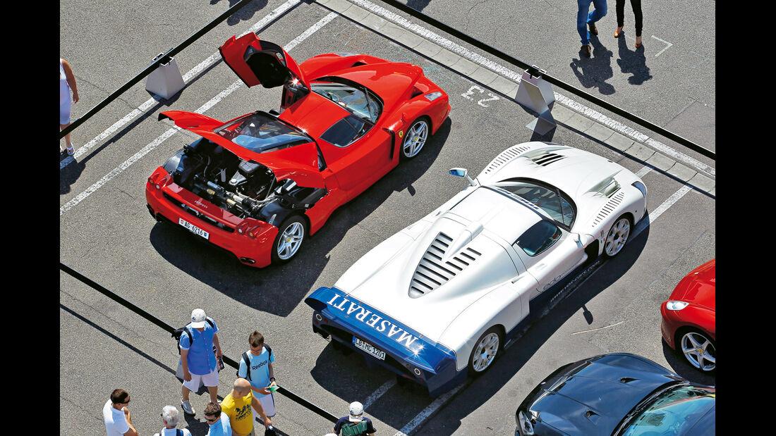 Ferrari Enzo, Maserati MC12