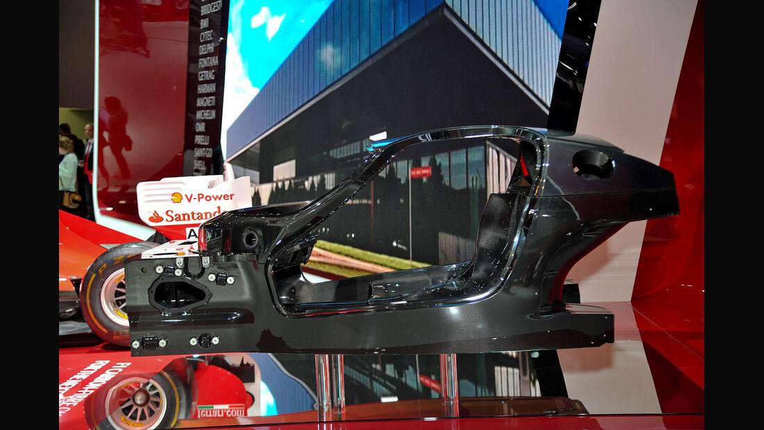 Ferrari Enzo Nachfolger Chassis Kohlefaser