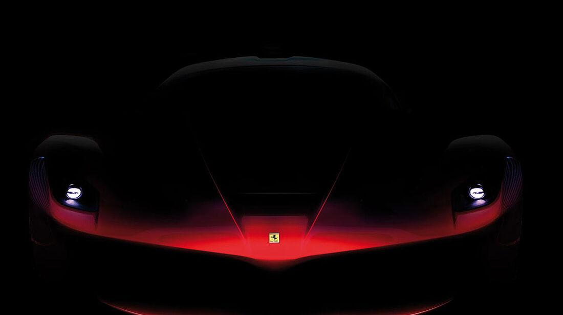 Ferrari Enzo Nachfolger Teaser Front
