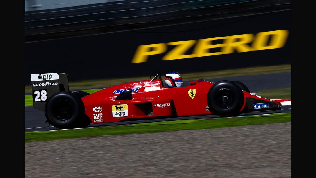 Ferrari F1/87/88C - Jean Alesi - Klassiker-Parade - GP Japan 2018