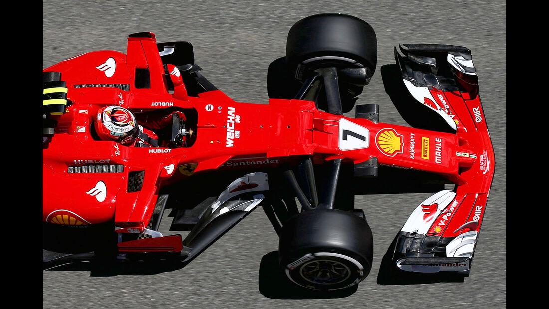 Ferrari - F1-Abmessungen - 07/2017
