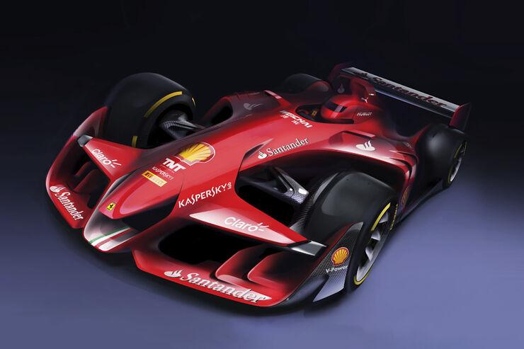 Ferrari - F1-Concept - Design-Studie - 2015