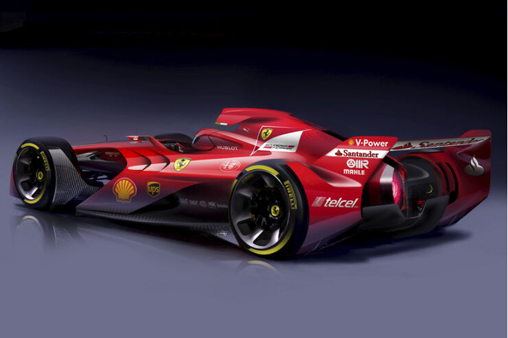 ferrari formel 1 concept so sieht ferrari die f1 zukunft. Black Bedroom Furniture Sets. Home Design Ideas