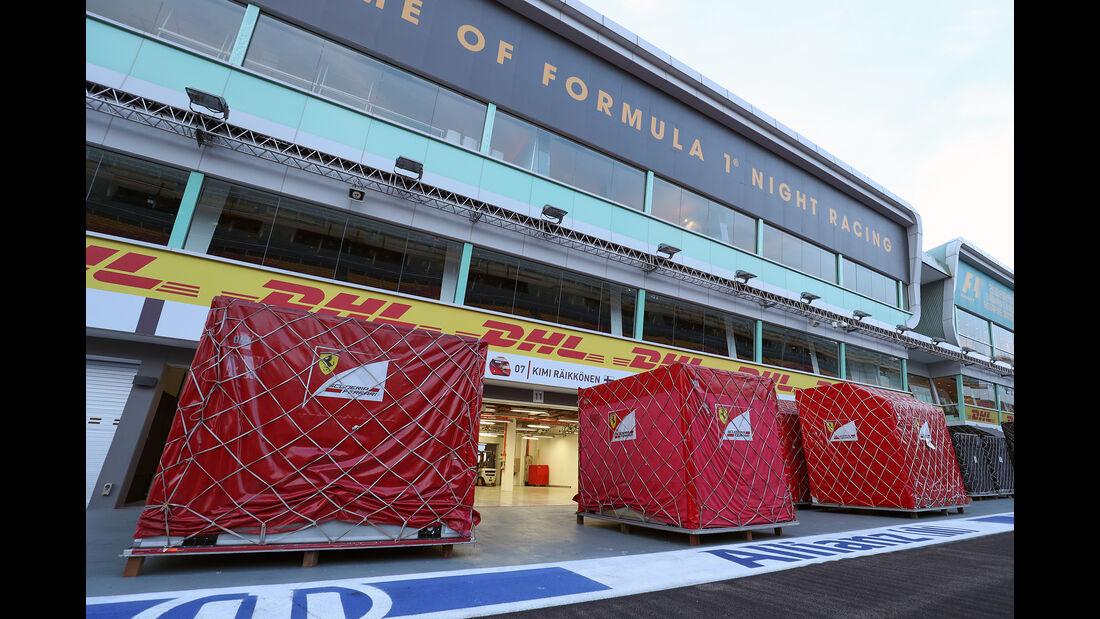 Ferrari - F1-Logistik - 2016