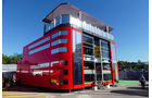 Ferrari - F1 - Motorhome - GP Spanien 2016 - Barcelona