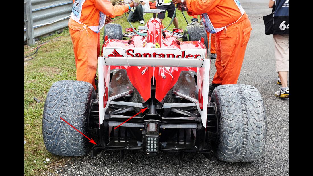 Ferrari F1 Technik 2013
