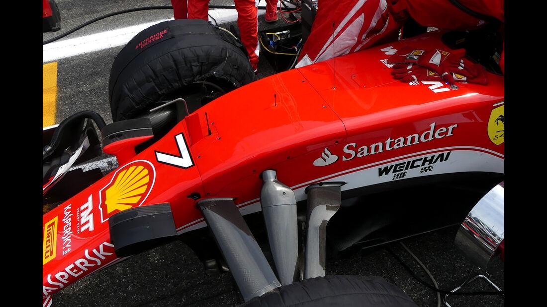 Ferrari - F1-Technik 2016