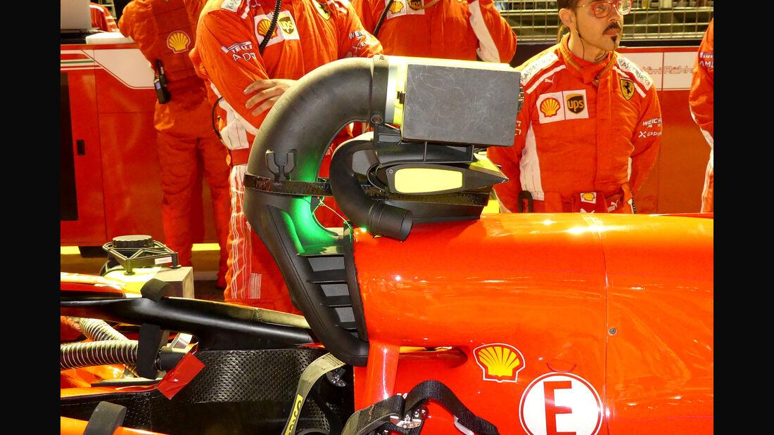 Ferrari - F1-Technik - Lüfter - GP Singapur 2018