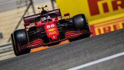 Ferrari - F1-Test - Bahrain - 2021
