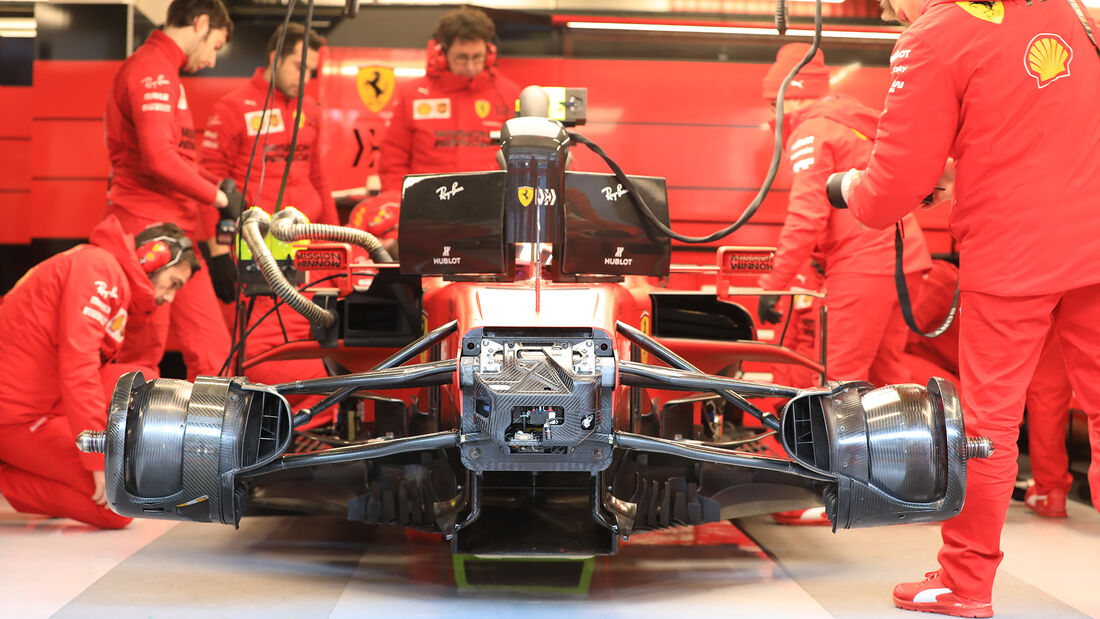 Ferrari - F1-Test - Barcelona - 19. Februar 2020