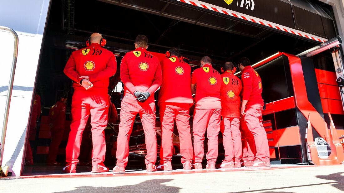 Ferrari - F1-Test - Barcelona - 20. Februar 2020