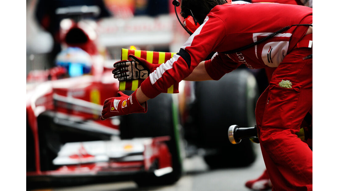 Ferrari F1 Test Barcelona 2013
