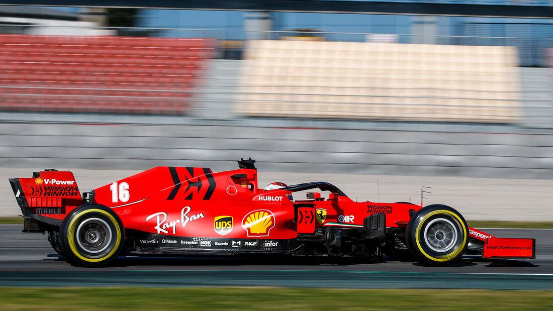 Ferrari - F1-Test - Barcelona - 2020