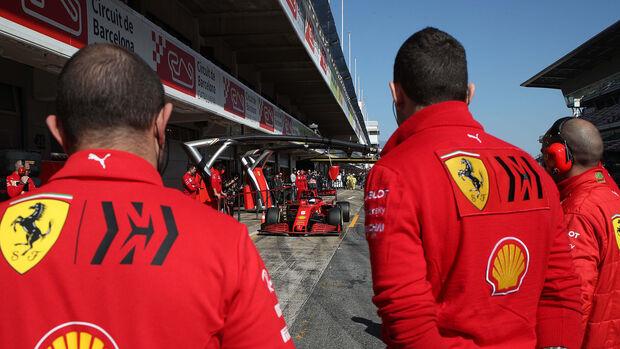 Ferrari - F1-Test Barcelona 2020