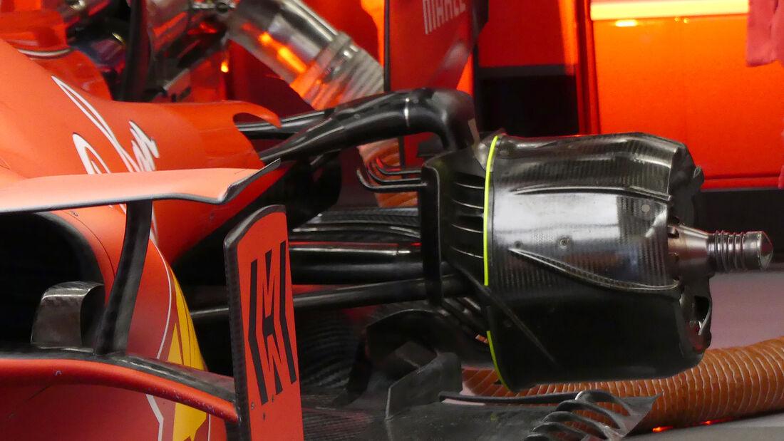Ferrari - F1-Test - Barcelona - 28. Februar 2020