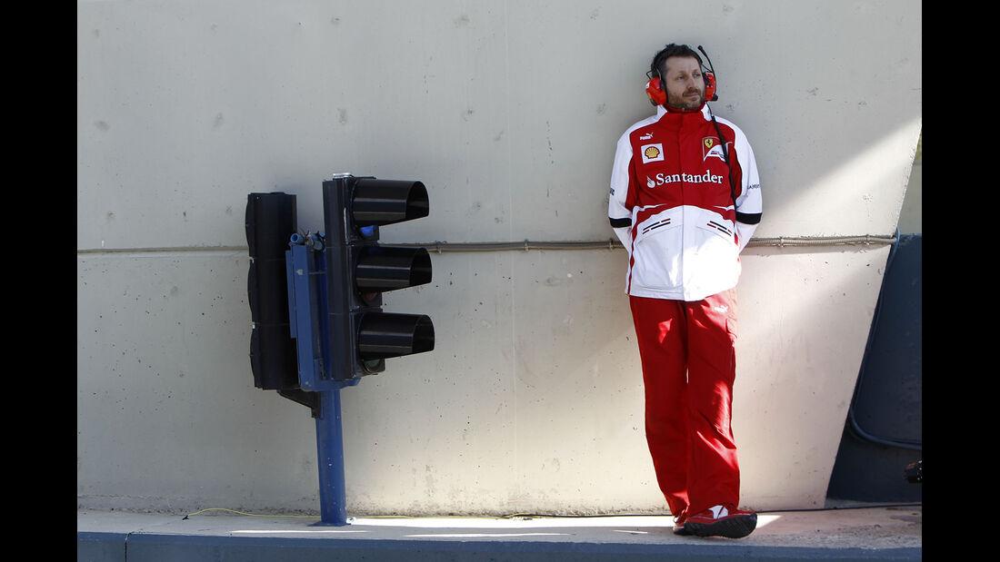 Ferrari F1 Test Jerez 2013 Highlights