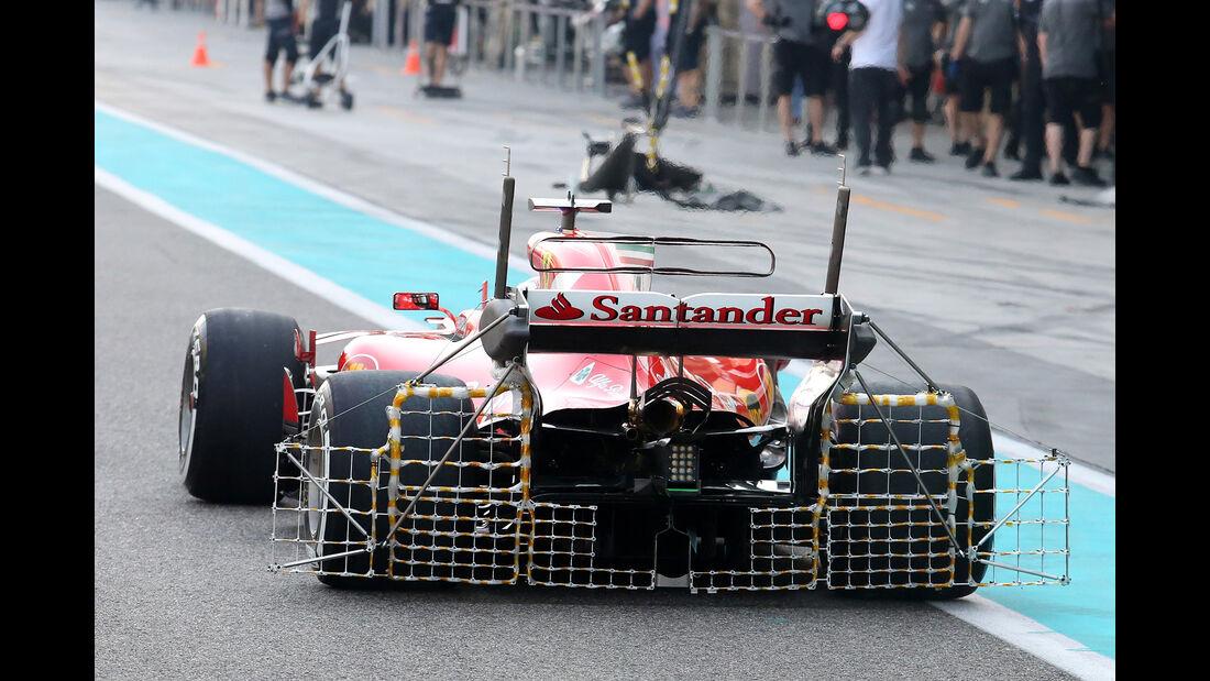 Ferrari - F1-Testfahrten - Abu Dhabi - 2017