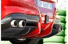 Ferrari F12 Berlinetta, Auspuff, Endrohre