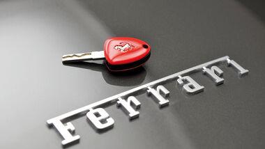 Ferrari F12 Berlinetta, Emblem, Zündschlüssel