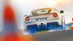 Ferrari F12 Berlinetta, Heckansicht