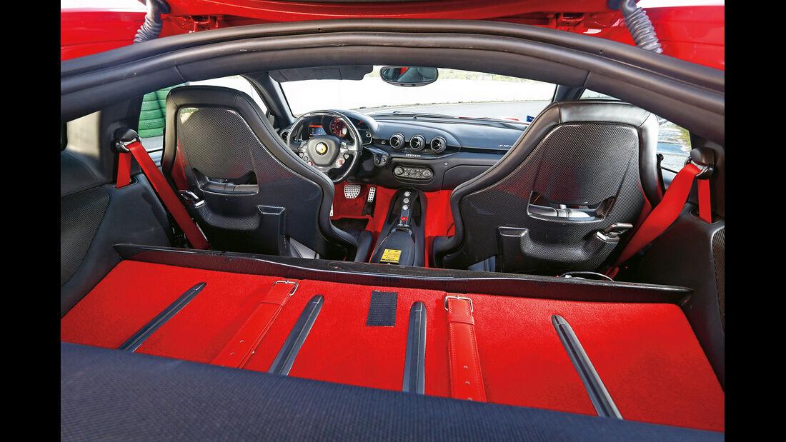 Ferrari F12 Berlinetta, Interieur