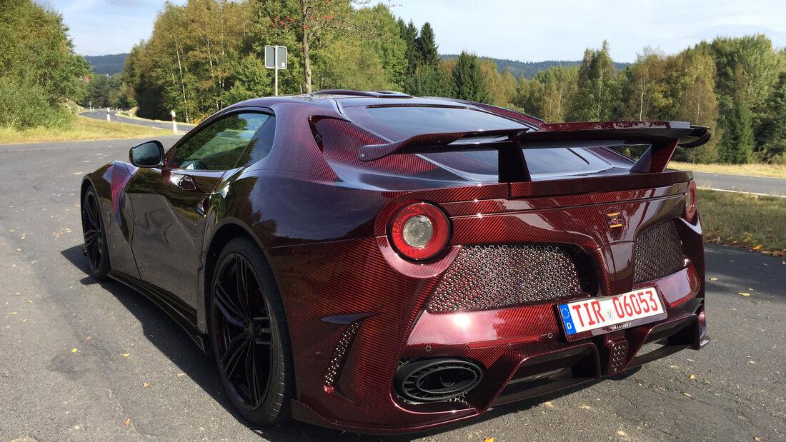 Ferrari F12 Berlinetta Mansory Fahrbericht