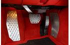 Ferrari F12 Berlinetta, Pedalerie