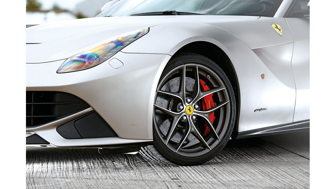 Ferrari F12 Berlinetta, Rad, Felge, Bremse