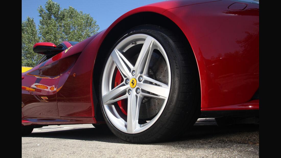 Ferrari F12 Berlinetta, Rad, Felge