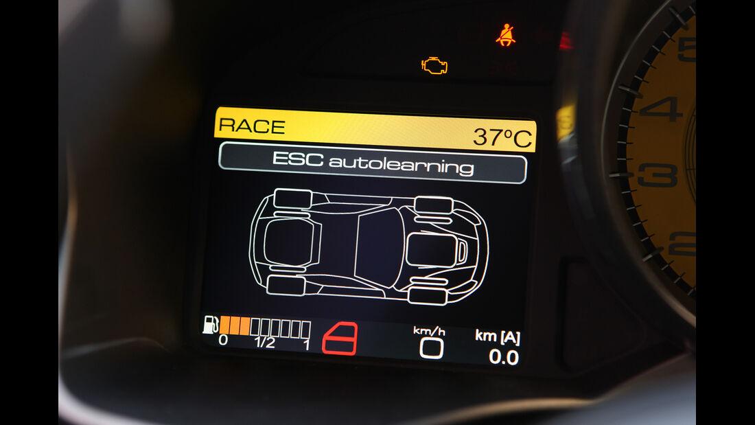 Ferrari F12 Berlinetta, Rundelemente, Display